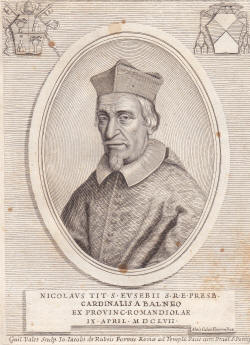 11 novembre 1644: Niccolo Guido di Bagno 1657%20NICOLAUS%20GUIDIS%20A%20BALNEO%20-%20GUIDI%20DI%20BAGNO%20NICOLA