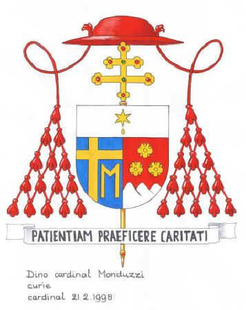 Il partrito ha nel primo lo stemma di Giovanni Paolo II che gli ha dato la  berretta cardinalizia  il secondo è rosso e ha d argento i tre monti del  paese ... 2c50e96889dc